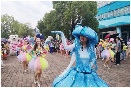武汉市文化和旅游局发出优先外地游客呼吁后的首个周末,武汉海昌迎600余人跨省游客