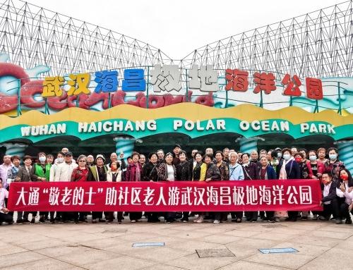感恩武汉敬老车队9年免费付出 海昌海洋公园助力传递正能量